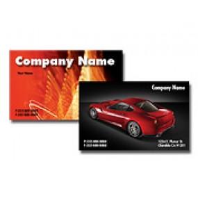 Linen Business Cards 4/0