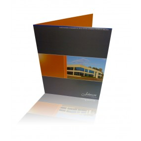 "Presentation Folders (2 Sided) 4/4: Standard 9""x12"""