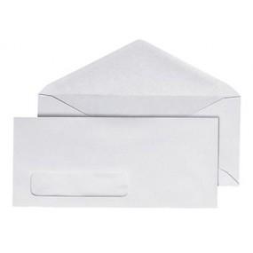 #10 Legal White Window Envelope